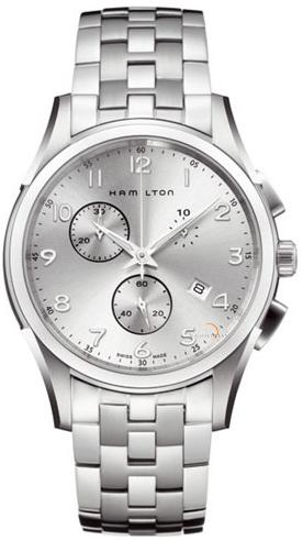 Hamilton Jazzmaster Thinline Chrono Quartz Watch H38612153 product image