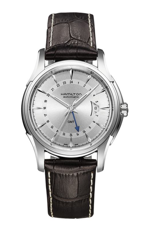 Hamilton Jazzmaster Traveler GMT Auto Watch H32585551 product image