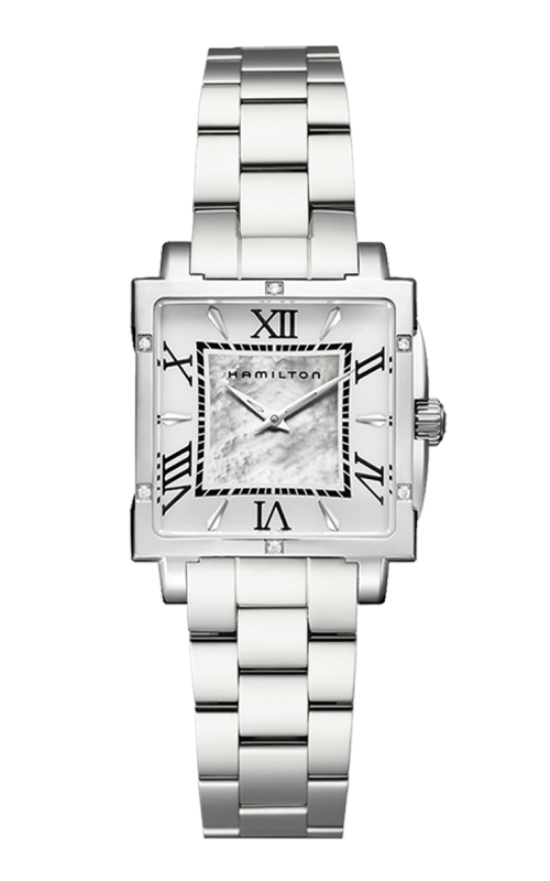 Hamilton Jazzmaster Square Lady Quartz Watch H32291114 product image