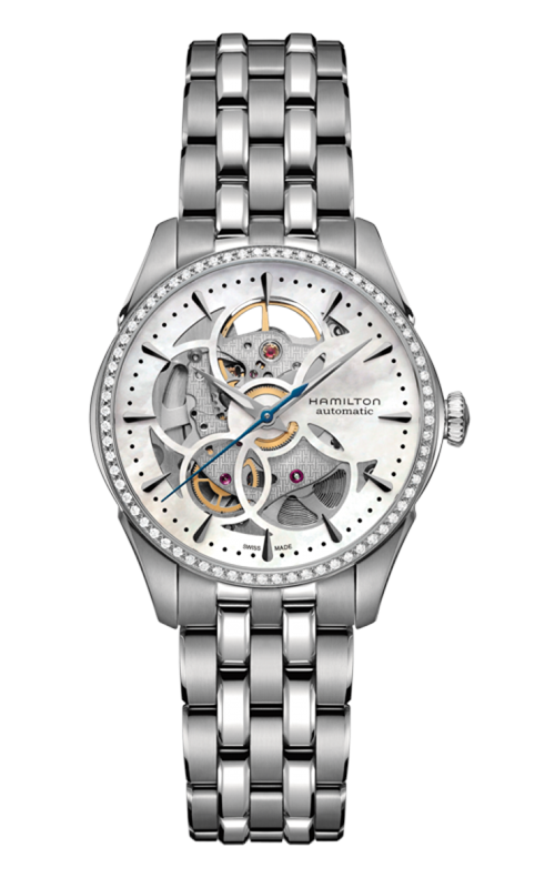 Hamilton Jazzmaster Viewmatic Skeleton Lady Auto Watch H42405191 product image