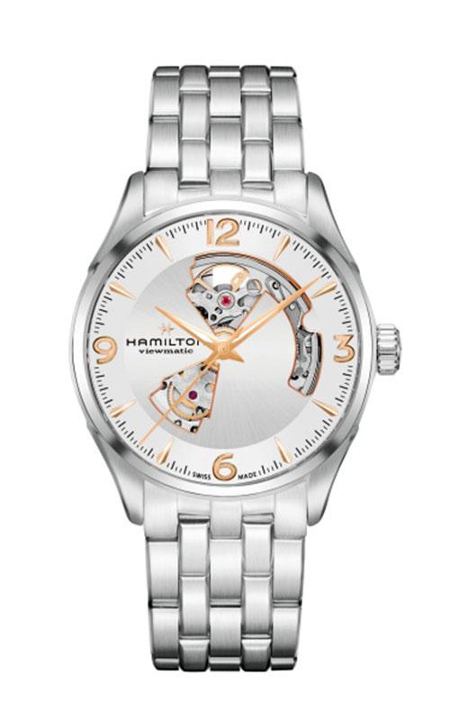 Hamilton Jazzmaster Open Heart Gent Watch H32705151 product image