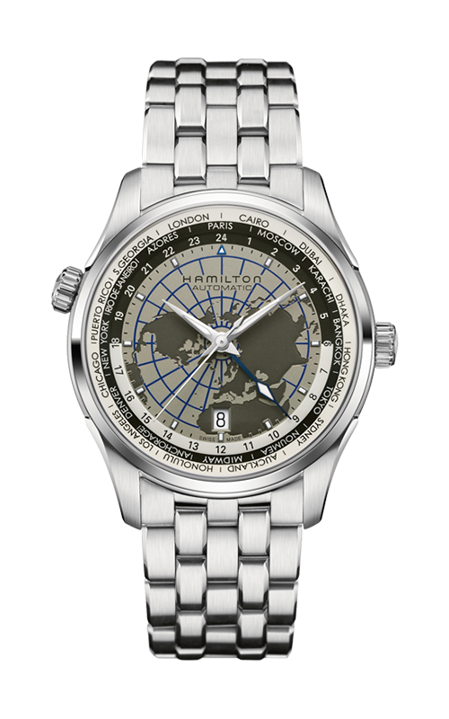 Hamilton Jazzmaster GMT Auto Watch H32605181 product image