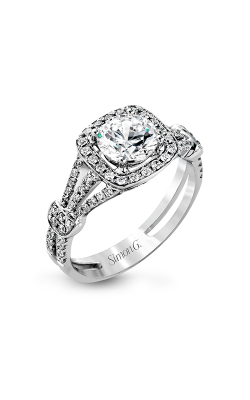 Simon G Passion - 18k White Gold 0.42ctw Diamond Engagement Ring, TR418 product image
