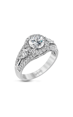 Simon G Passion - 18k White Gold 1.02ctw Diamond Engagement Ring, MR1506 product image