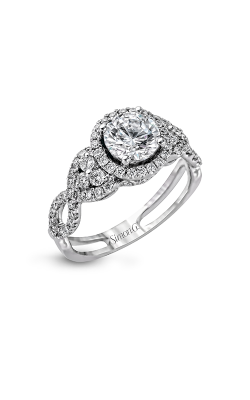 Simon G Passion - 18k White Gold 0.59ctw Diamond Engagement Ring, TR160 product image