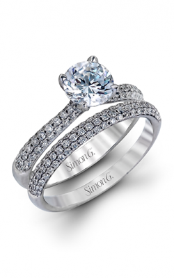 Simon G Caviar Engagement ring TR431 product image