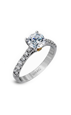 Simon G Caviar - 18k Yellow Gold, 18k White Gold 0.68ctw Diamond Engagement Ring, MR1976 product image
