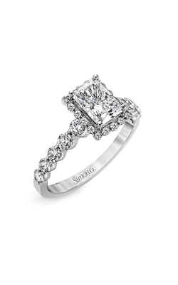 Simon G Passion - 18k White Gold 0.64ctw Diamond Engagement Ring, MR2088 product image
