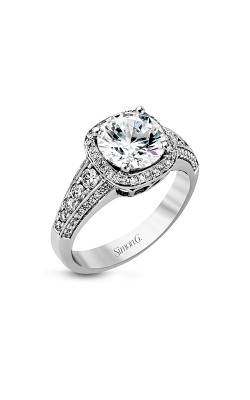Simon G Passion - 18k White Gold 0.58ctw Diamond Engagement Ring, MR2181 product image
