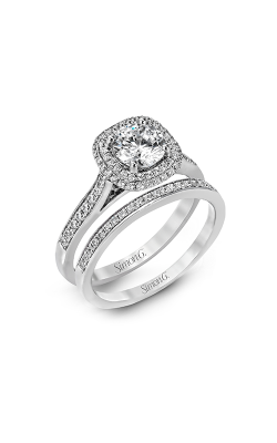 Simon G Passion - 18k White Gold 0.45ctw Diamond Engagement Ring, MR2395 product image
