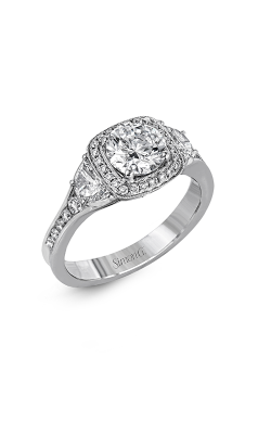 Simon G Passion - 18k White Gold 0.72ctw Diamond Engagement Ring, MR2648 product image