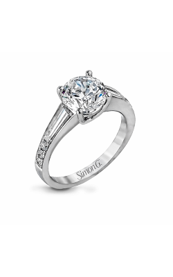Simon G Modern Enchantment - 18k White Gold 0.67ctw Diamond Engagement Ring, MR2219 product image