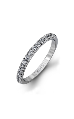 Simon G Passion - 18k White Gold 0.80ctw Diamond Wedding Band, MR1811 product image