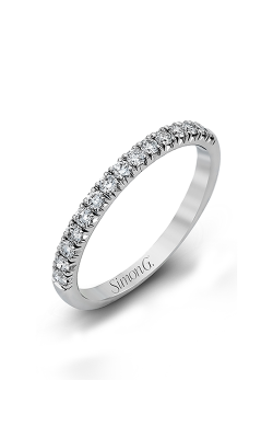 Simon G Passion - 18k White Gold 0.78ctw Diamond Wedding Band, MR2132 product image