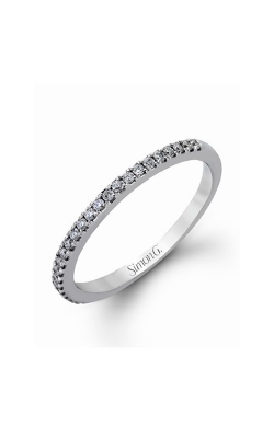 Simon G Passion - 18k White Gold 0.63ctw Diamond Wedding Band, MR2459 product image