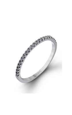 Simon G Passion - 18k White Gold 0.44ctw Diamond Wedding Band, NR468 product image