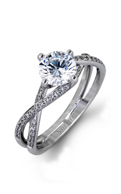 Simon G Classic Romance - 18k White Gold 0.22ctw Diamond Engagement Ring, MR1394 product image