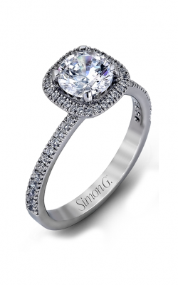 Simon G Passion - 18k White Gold 0.46ctw Diamond Engagement Ring, MR1842-A product image