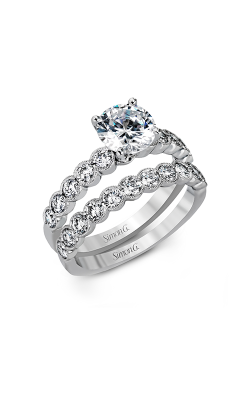 Simon G Modern Enchantment - 18k White Gold 1.09ctw Diamond Engagement Ring, MR2566 product image