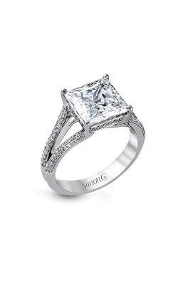 Simon G Modern Enchantment - 18k White Gold 0.34ctw Diamond Engagement Ring, MR2257 product image