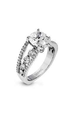 Simon G Modern Enchantment - 18k White Gold 1.12ctw Diamond Engagement Ring, MR2690 product image