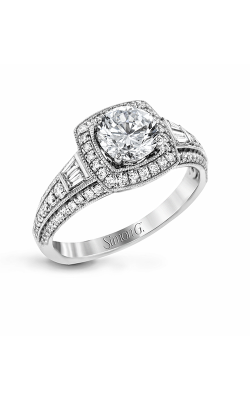 Simon G Passion - 18k White Gold 0.53ctw Diamond Engagement Ring, LR1155 product image