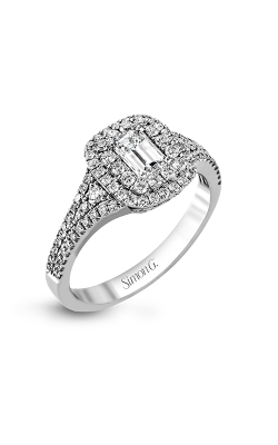 Simon G Passion - 18k White Gold 0.61ctw Diamond Engagement Ring, MR2274 product image