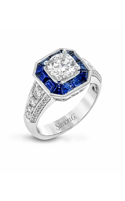 Simon G Modern Enchantment - 18k White Gold 0.52ctw Diamond Engagement Ring, MR2384-A product image