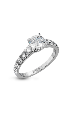 Simon G Modern Enchantment - 18k White Gold 0.89ctw Diamond Engagement Ring, MR2548 product image