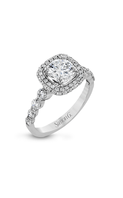 Simon G Modern Enchantment - 18k White Gold 0.87ctw Diamond Engagement Ring, MR2743 product image