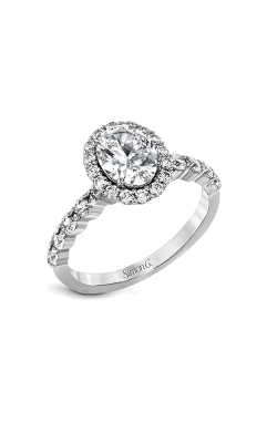 Simon G Modern Enchantment - 18k White Gold 0.70ctw Diamond Engagement Ring, MR2878 product image