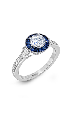 Simon G Classic Romance - 18k White Gold 0.26ctw Diamond Engagement Ring, LR1029 product image