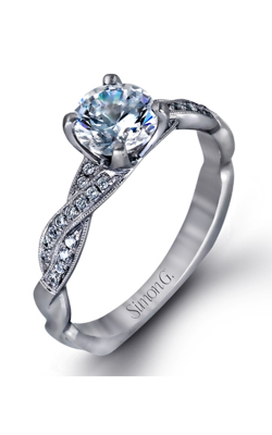 Simon G Delicate engagement ring MR1498-D product image