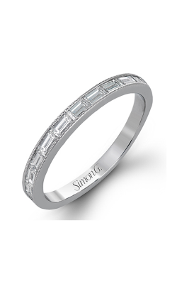 Simon G Vintage Explorer Wedding Band TR595 product image