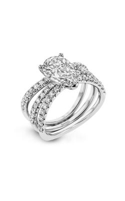 Simon G Classic Romance Wedding Set LR1083-PR product image