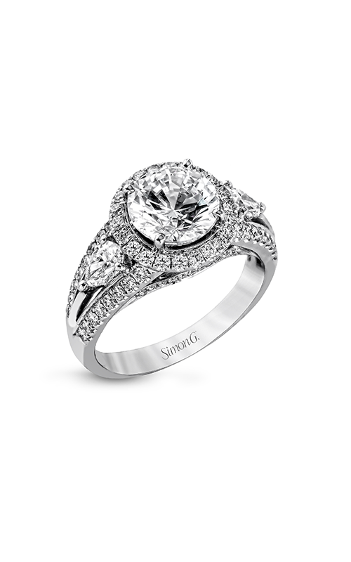 Simon G Passion - 18k white gold 1.14ctw Diamond Engagement Ring, MR1503 product image