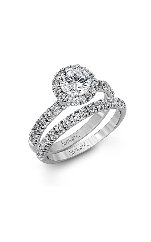 Simon G Passion - 18k white gold 0.80ctw Diamond Engagement Ring, MR1811 product image