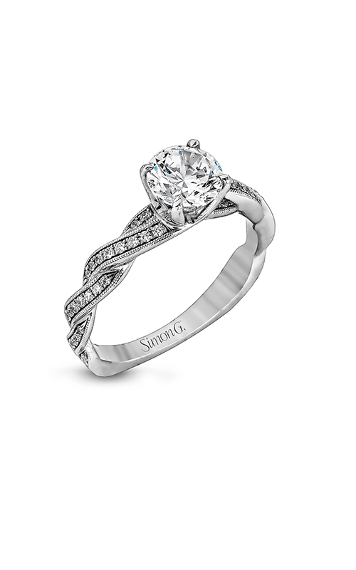 Simon G Fabled - 18k white gold 0.25ctw Diamond Engagement Ring, MR1498 product image