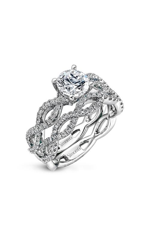 Simon G Classic Romance - 18k white gold 0.65ctw Diamond Engagement Ring, MR1596 product image
