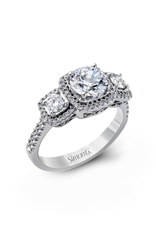 Simon G Passion - 18k white gold 0.62ctw Diamond Engagement Ring, MR2080 product image