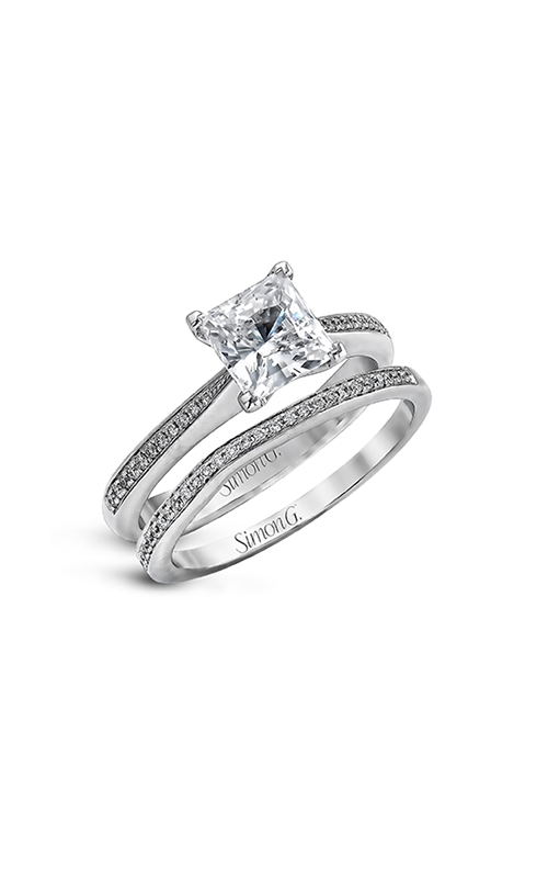 Simon G Caviar - 18k white gold  Engagement Ring, MR1507 product image