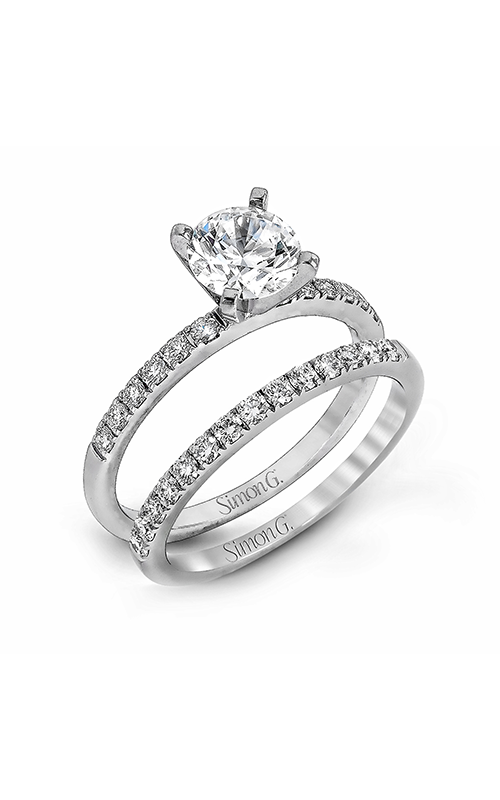 Simon G Modern Enchantment - 18k white gold 0.58ctw Diamond Engagement Ring, MR1686 product image
