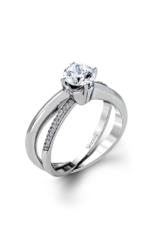 Simon G Fabled - 18k white gold, 18k yellow gold  Engagement Ring, MR1906 product image