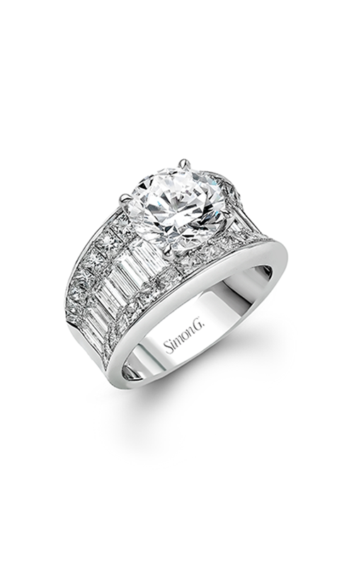 Simon G Nocturnal Sophistication - 18k white gold 3.00ctw Diamond Engagement Ring, MR1922 product image