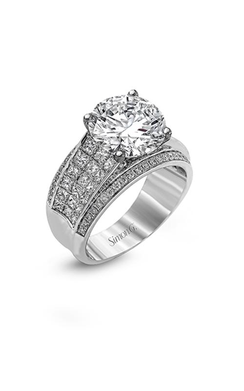 Simon G Nocturnal Sophistication - 18k white gold 1.52ctw Diamond Engagement Ring, MR2141 product image