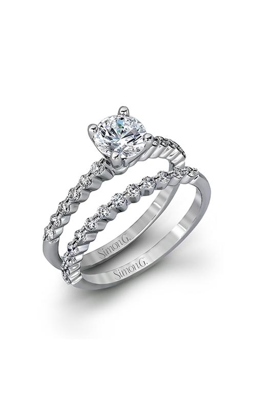 Simon G Delicate - 18k white gold 0.56ctw Diamond Engagement Ring, MR2173-D product image