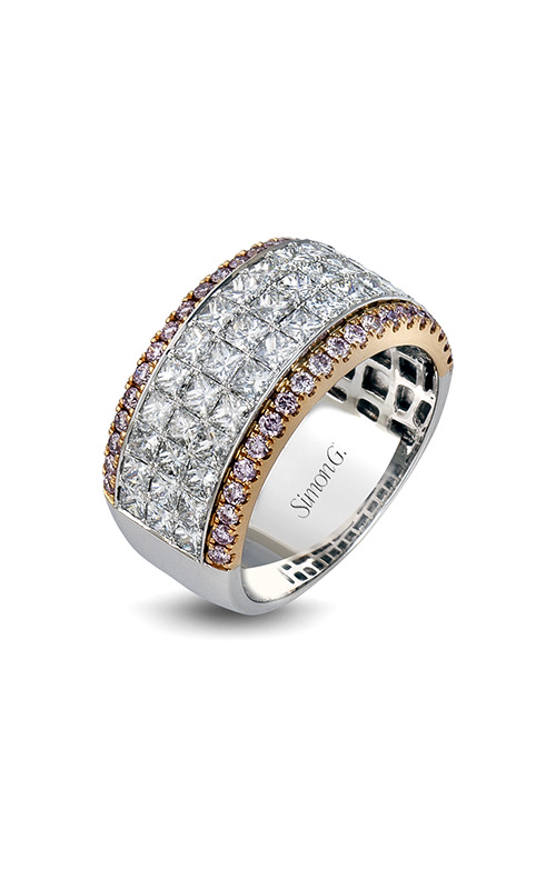 Simon G Nocturnal Sophistication - 18k rose gold, 18k white gold 0.52, 2.28ctw Diamond Wedding Band, MR1725 product image