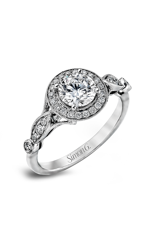 Simon G Passion - 18k white gold 0.25ctw Diamond Engagement Ring, TR523 product image