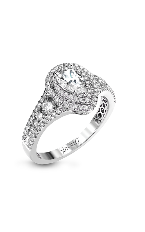 Simon G Passion - 18k white gold 0.68ctw Diamond Engagement Ring, MR2592 product image