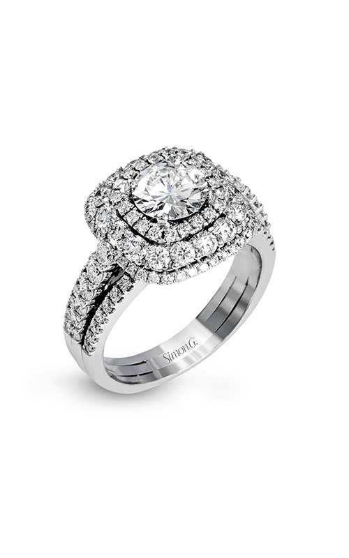 Simon G Passion - 18k white gold 1.35ctw Diamond Engagement Ring, MR2622 product image
